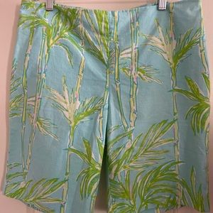 Lilly Pulitzer Shorts. Resort Fit. Size 10.